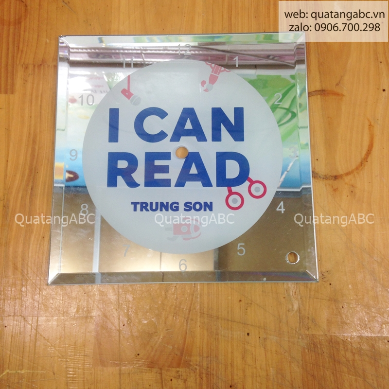 INLOGO IN ĐỒNG HỒ CHO I CAN READ